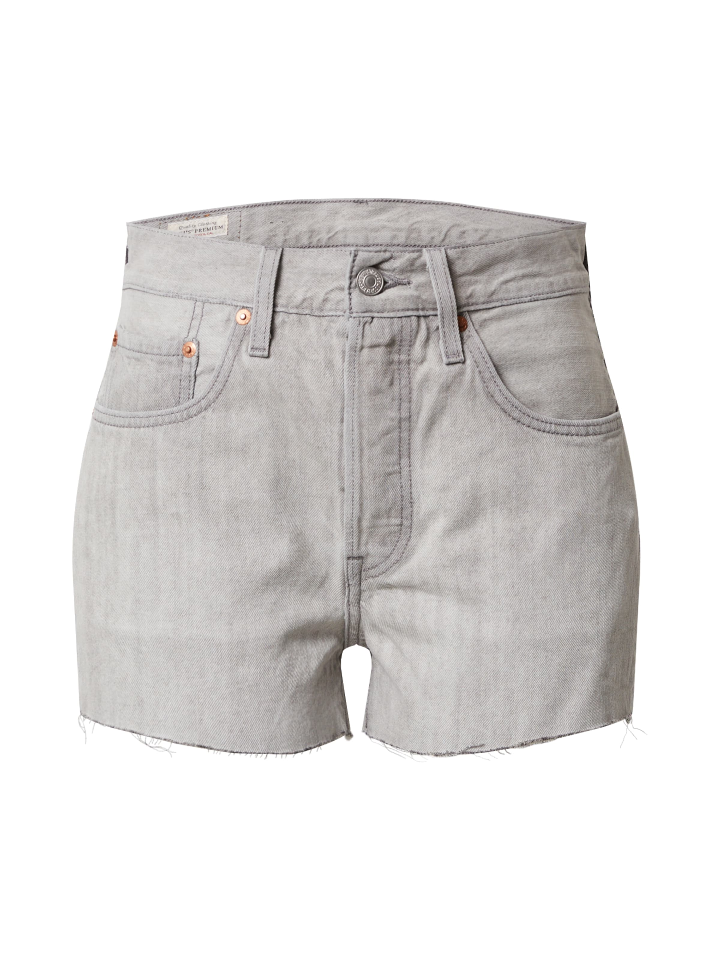 LEVI'S Jeans '501®' i grå denim