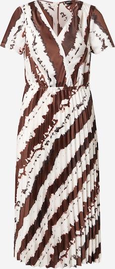 s.Oliver BLACK LABEL Kleid in creme / dunkelrot, Produktansicht