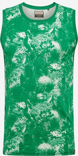 Petrol Industries T-Krekls 'SINGLET' pieejami zaļš, Preces skats