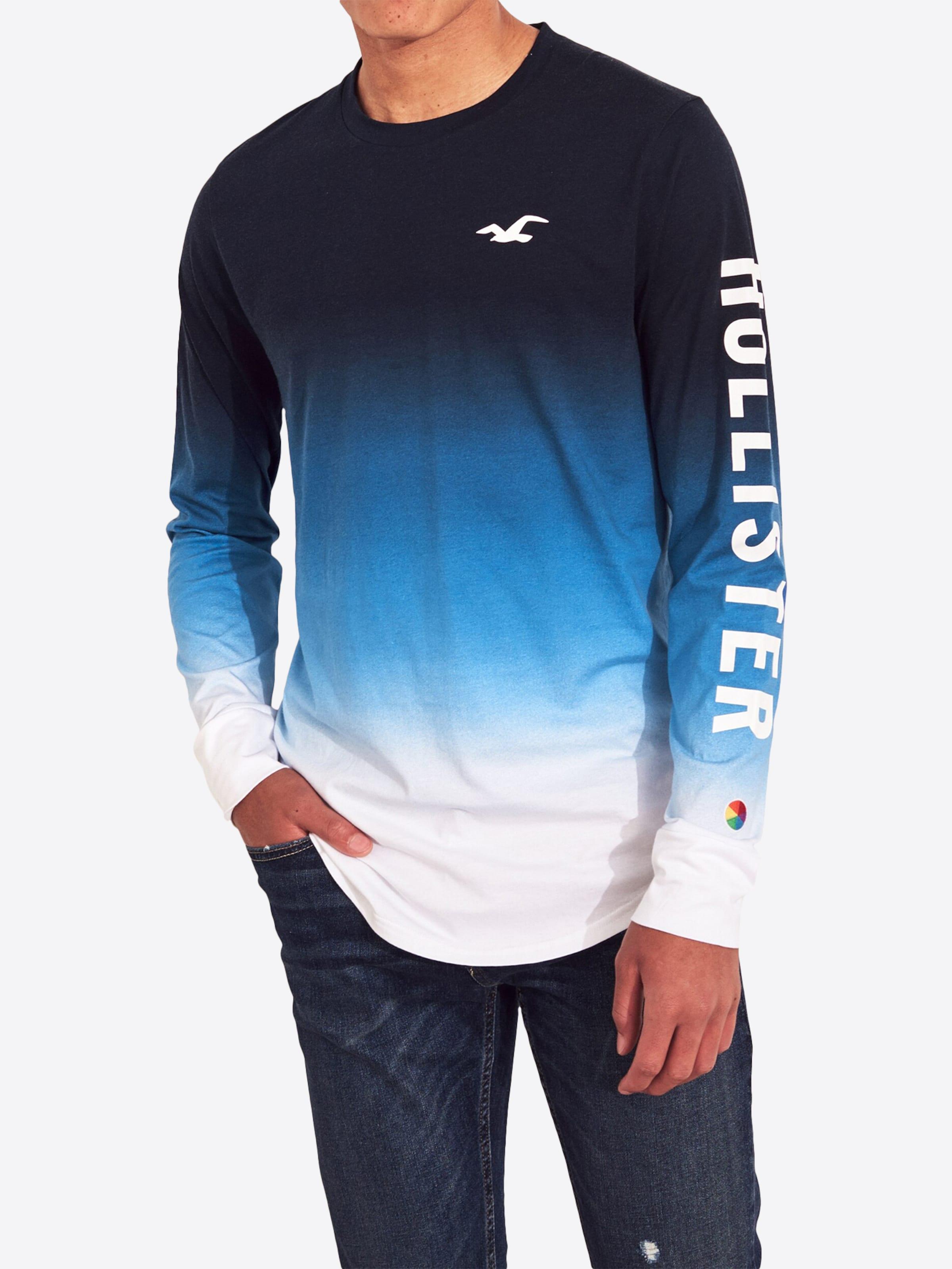 DunkelblauWeiß In DunkelblauWeiß Shirt In Shirt Hollister Hollister w8nOvy0mNP