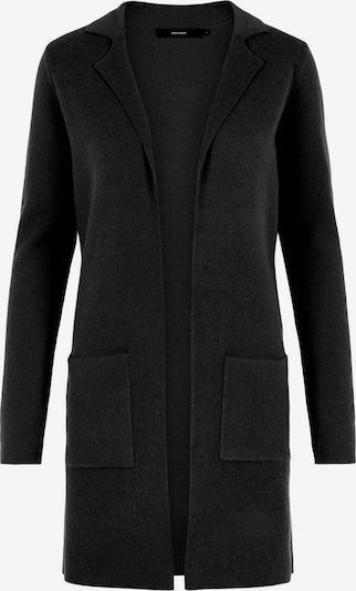 VERO MODA Gebreid vest 'Tasty' in de kleur Zwart, Productweergave