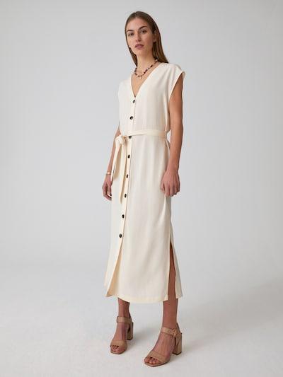 EDITED Kleid 'Madia' in weiß / offwhite, Modelansicht