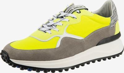 Floris van Bommel Sneaker in neongelb / stone, Produktansicht