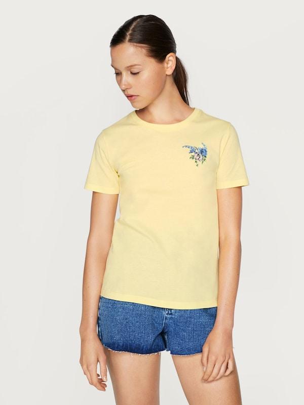 T De Couleurs 'leila' Edited shirt JauneMélange En jSMGVpqULz