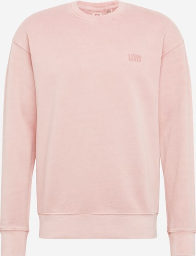 LEVI'S Sweat-shirt 'AUTHENTIC LOGO' en rose, Vue avec produit