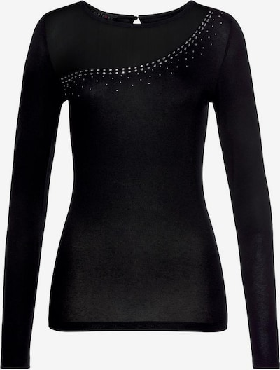 MELROSE Langarmshirt in schwarz, Produktansicht