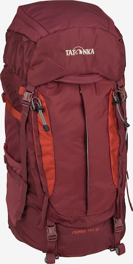 TATONKA Trekkingrucksack 'Norix' in weinrot, Produktansicht