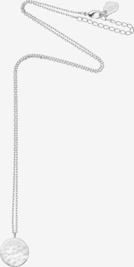 Estella Bartlett Kette 'Disc' in silber, Produktansicht