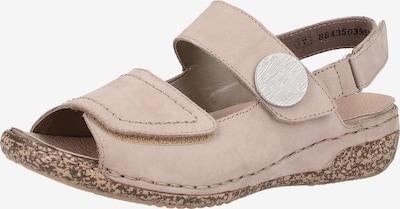 RIEKER Sandalen in taupe, Produktansicht