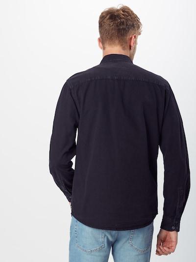 BLEND Chemise en noir: Vue de dos