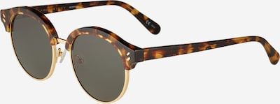Stella McCartney Sonnenbrille 'SC0120S 50 Sunglass WOMAN BIO ACETAT' in braun / grün, Produktansicht
