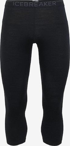 ICEBREAKER Παντελόνι φόρμας '200 Oasis' σε μαύρο