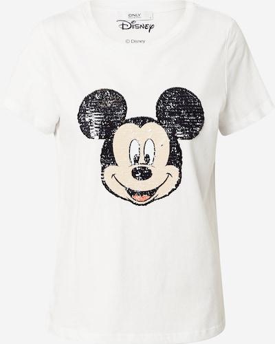ONLY Majica 'Mickey' u crna / bijela, Pregled proizvoda