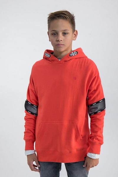 GARCIA Sweatshirt in rot / schwarz: Frontalansicht