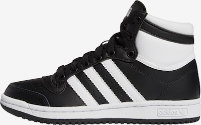 ADIDAS ORIGINALS Sneaker 'Top Ten' in schwarz / weiß, Produktansicht