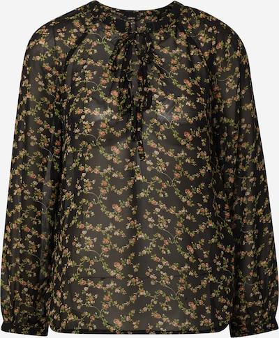 ONLY Blouse 'ONLTERESA L/S BALLOON TOP WVN' in de kleur Zwart, Productweergave