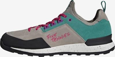 ADIDAS PERFORMANCE Lage schoen 'Five Tennie' in de kleur Beige / Jade groen / Zwart, Productweergave