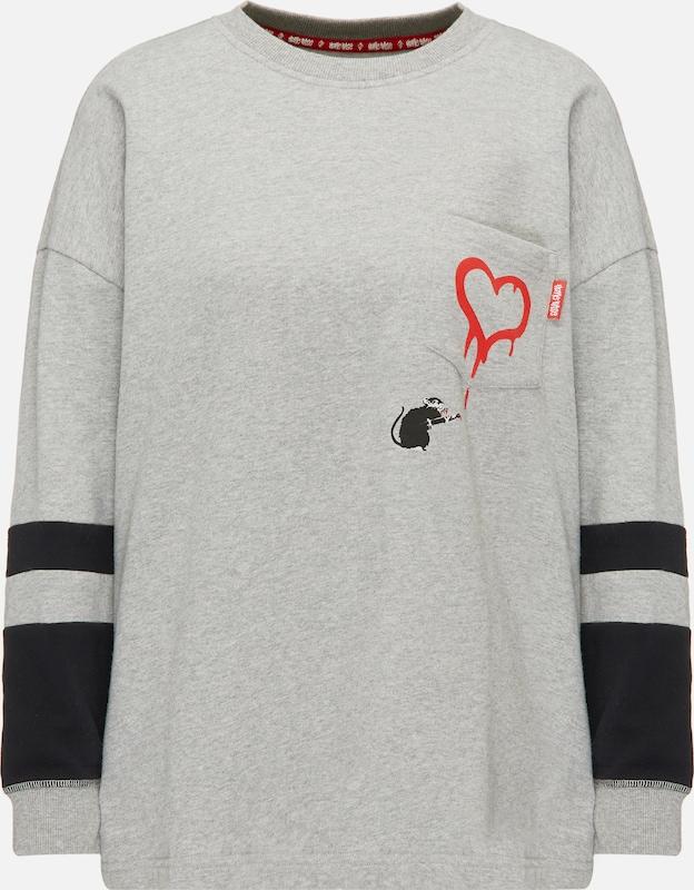 HOMEBASE Pullover in grau   schwarz  Neu in diesem Quartal