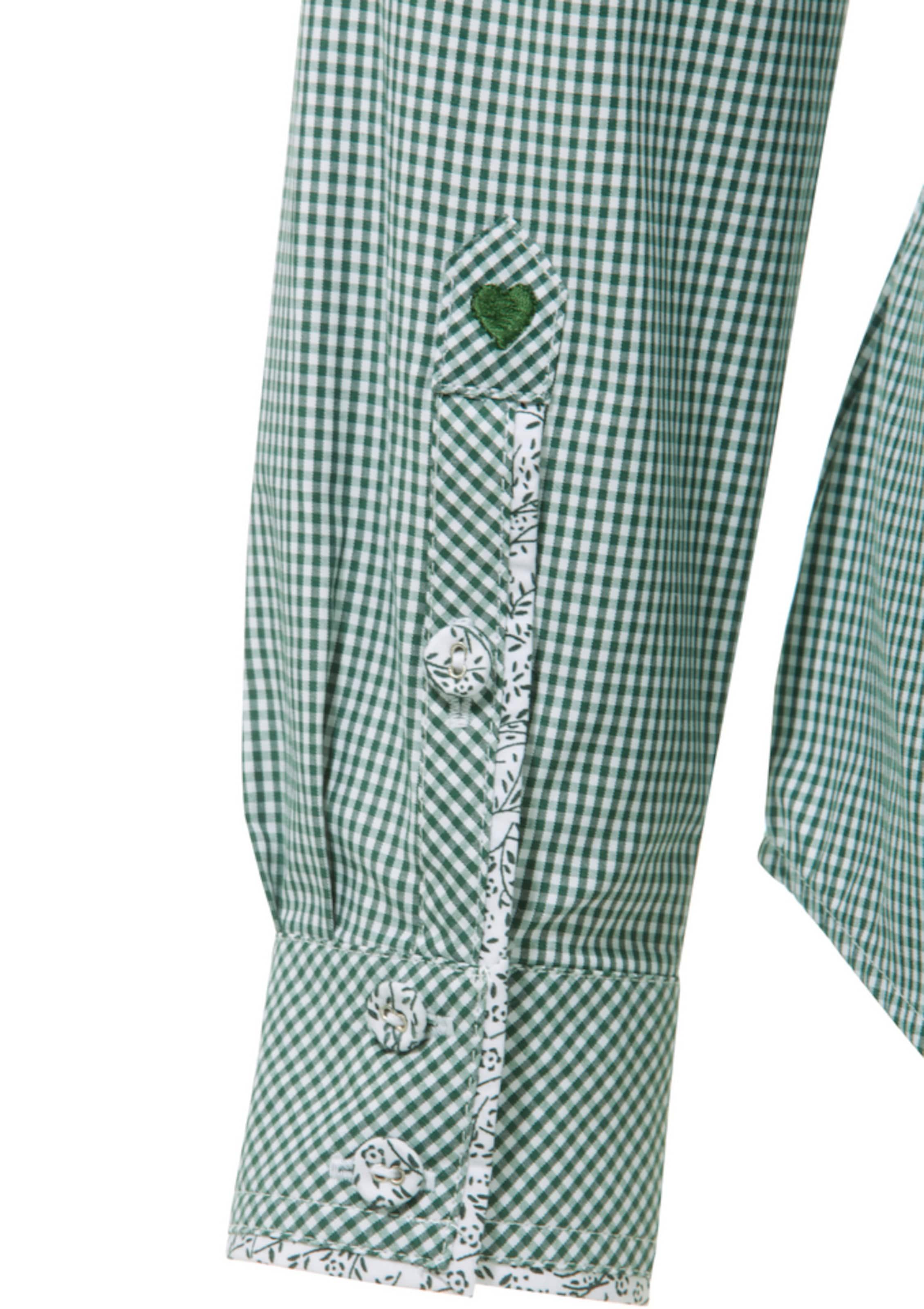 SPIETH & WENSKY Trachtenbluse mit Krempelärmeln Günstig Kaufen Limited Edition Echt Günstig Online Versand Rabatt Verkauf Online Billigsten Fe66VO4tYp
