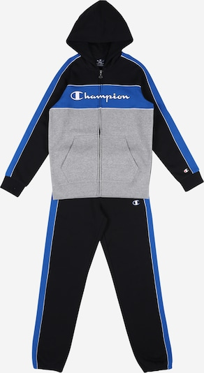 Champion Authentic Athletic Apparel Odjeća za vježbanje u plava / siva / crna, Pregled proizvoda