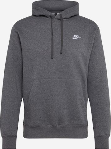 Sweat-shirt 'Club' Nike Sportswear en gris