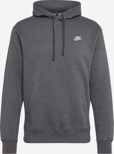 Nike Sportswear Sweatshirt 'Club' in dunkelgrau, Produktansicht
