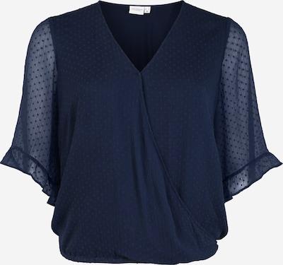 Junarose Bluse 'Maggie' in dunkelblau, Produktansicht