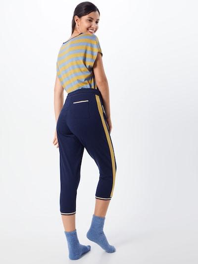 Mey Pantalon de pyjama 'NIGHT2DAY' en bleu nuit: Vue de dos