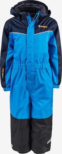 ZigZag Schneeanzug 'Paja' in navy / himmelblau / schwarz, Produktansicht