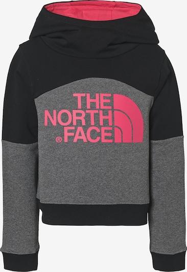 THE NORTH FACE Pullover in grau / pink / schwarz, Produktansicht