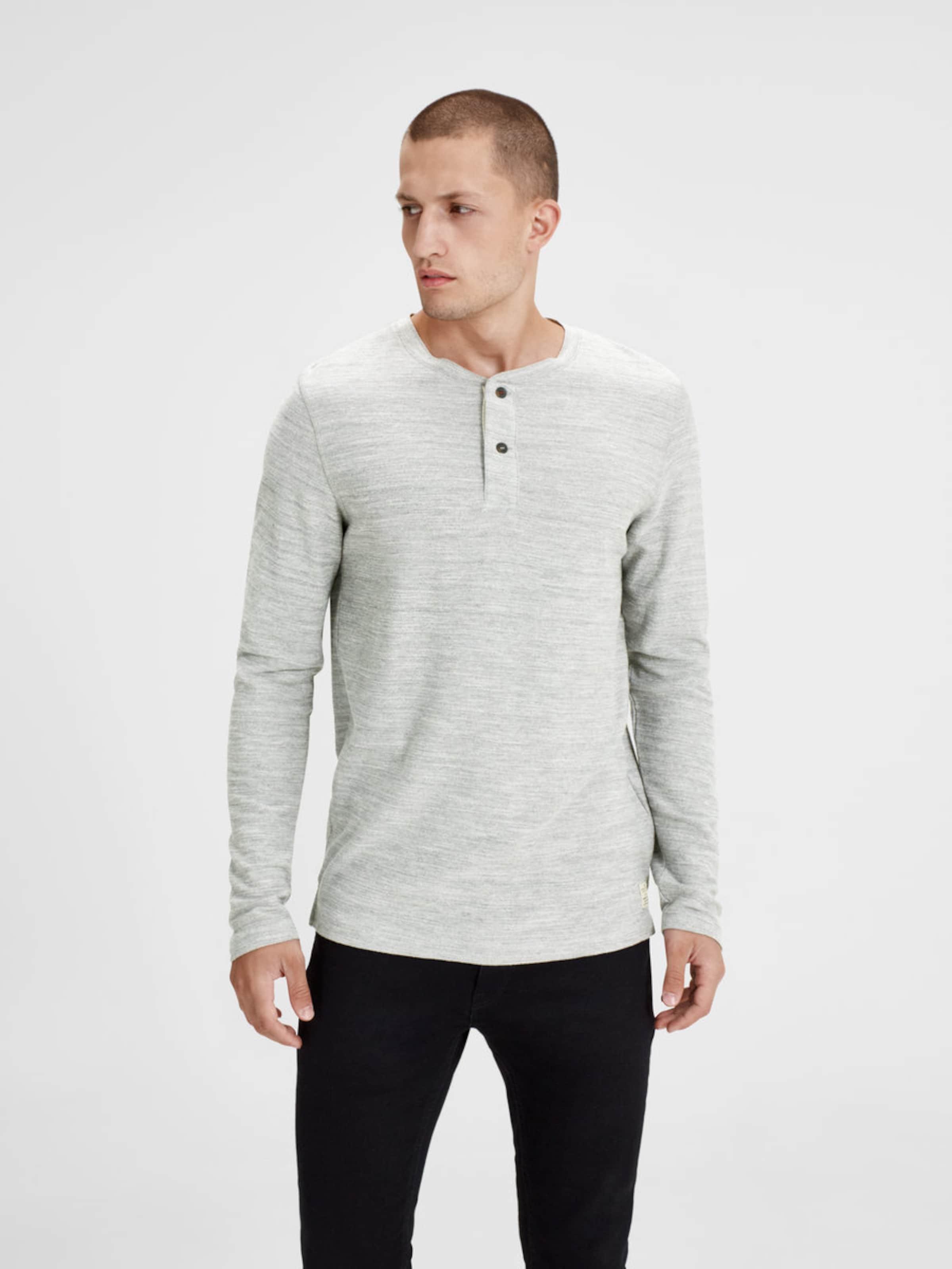 Die Besten Preise Zu Verkaufen JACK & JONES T-Shirt mit langen Ärmeln Billig Größte Lieferant Rabatt Vorbestellen O9jPZgp