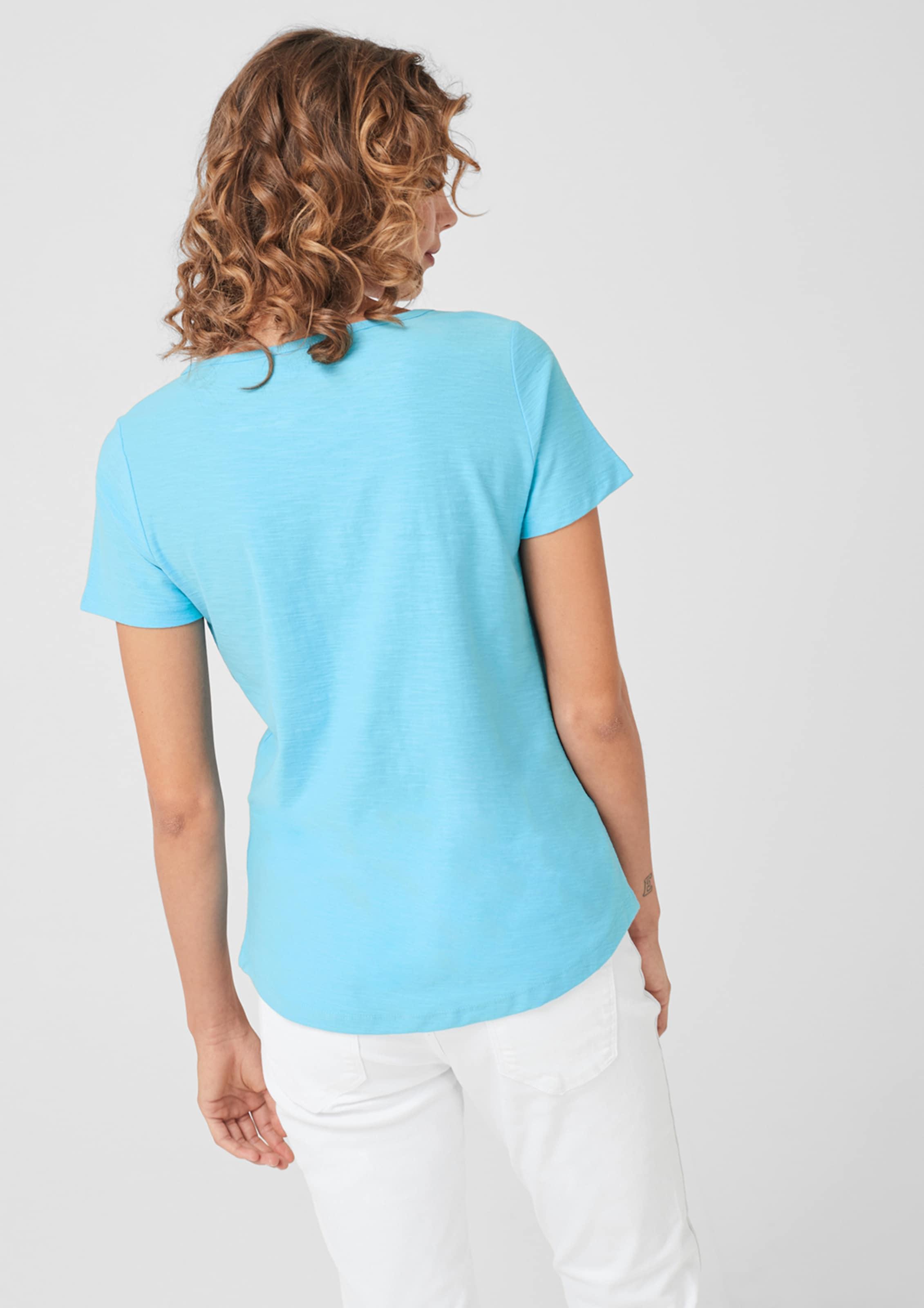 S In oliver Red Hellblau Label Shirt 3AjRc54qL