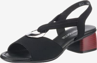 REMONTE Sandaletten in schwarz, Produktansicht