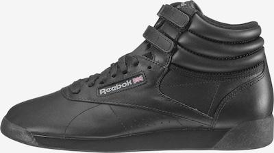 Reebok Classics Sneaker 'Freestyle Hi' in schwarz, Produktansicht