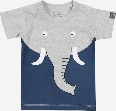 Hust & Claire Shirt 'Anker' in de kleur Blauw / Grijs gemêleerd, Productweergave