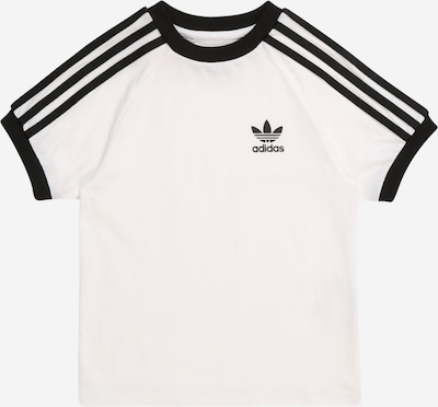 ADIDAS ORIGINALS Shirt '3STRIPES' in schwarz / weiß, Produktansicht
