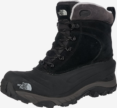 THE NORTH FACE Winterstiefel 'Chilkat III' in dunkelgrau / schwarz / weiß, Produktansicht