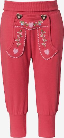 BONDI Hose in hellblau / grün / pink / rot, Produktansicht