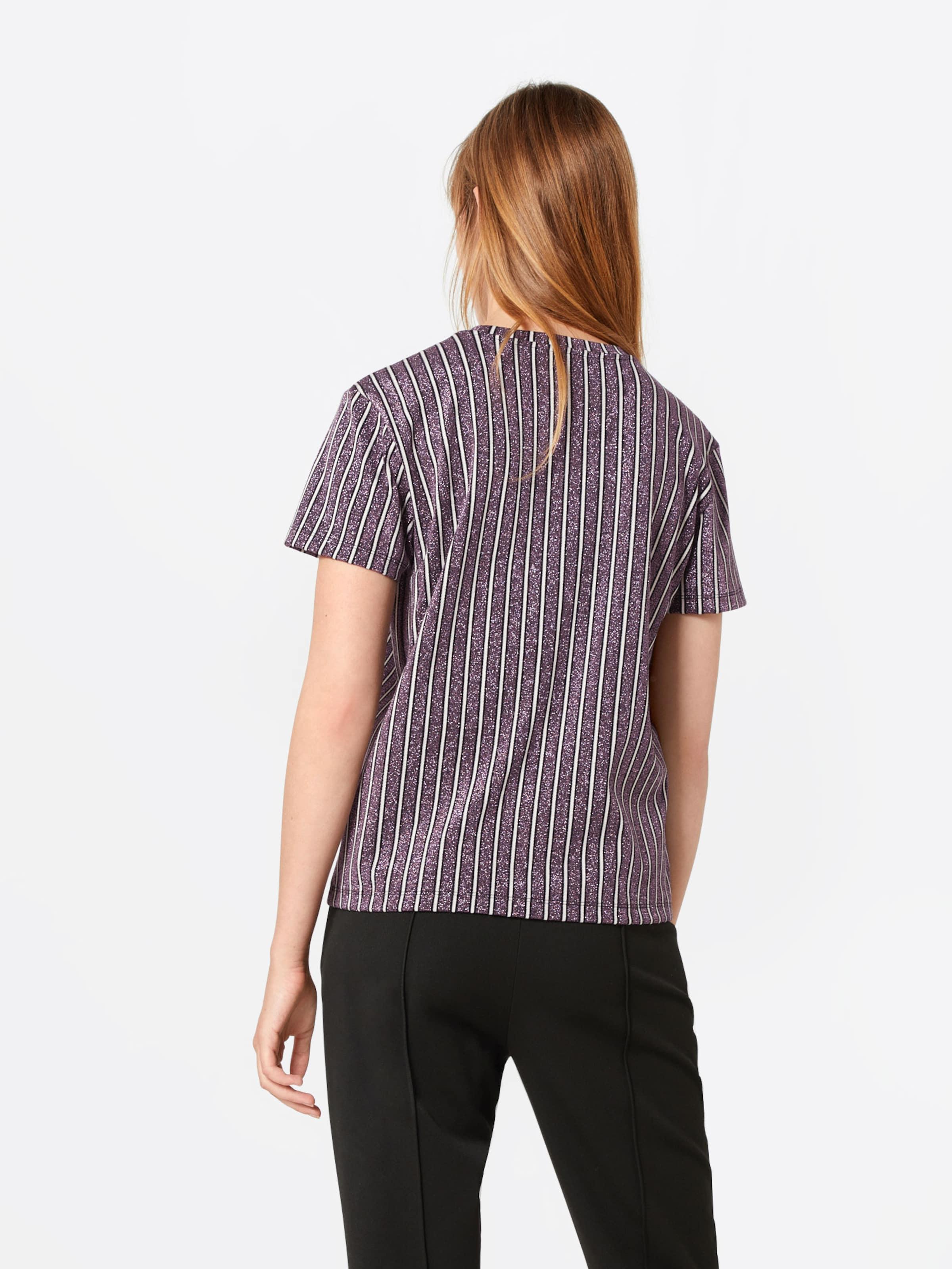 'posazalea T Shirt Postyr ' DunkellilaWeiß In trhsxQCd