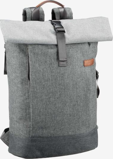 ZWEI Rucksack 'Benno' in graumeliert, Produktansicht
