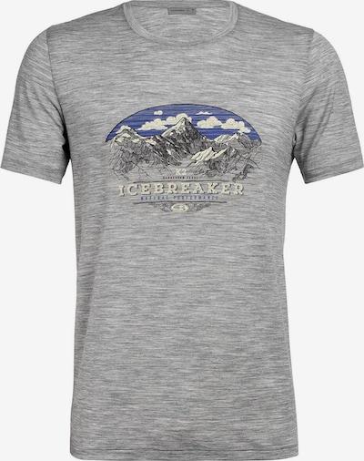 Icebreaker T-Shirt 'Tech Lite SS Crewe K2 Crest' in grau, Produktansicht
