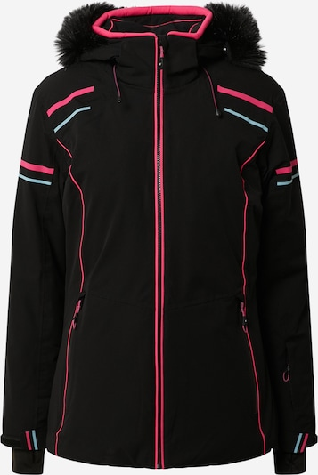 KILLTEC Sports jacket 'Cimetta' in Light blue / Pink / Black, Item view