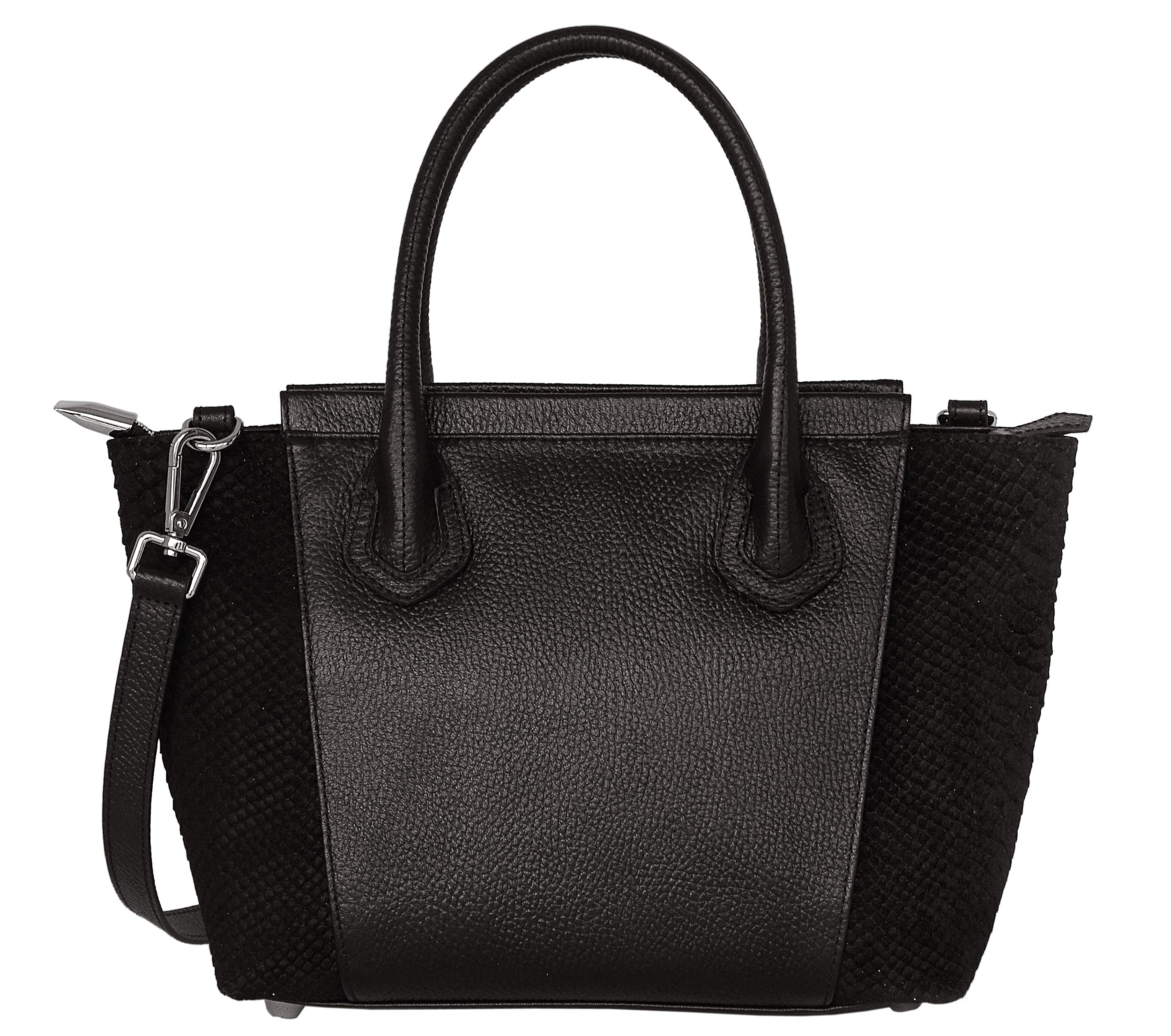 Handtasche Handtasche In Silvio Tossi Schwarz Silvio Tossi sQxthdCr
