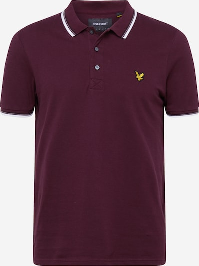 Lyle & Scott Shirt in de kleur Bourgogne, Productweergave
