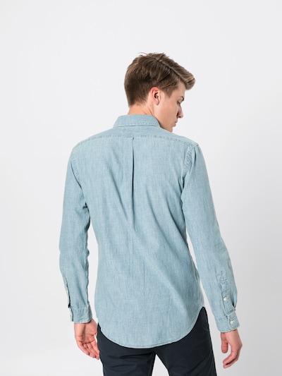 Polo Ralph Lauren Hemd 'SL BD PPC SP-LONG SLEEVE-SPORT SHIRT' in blue denim: Rückansicht