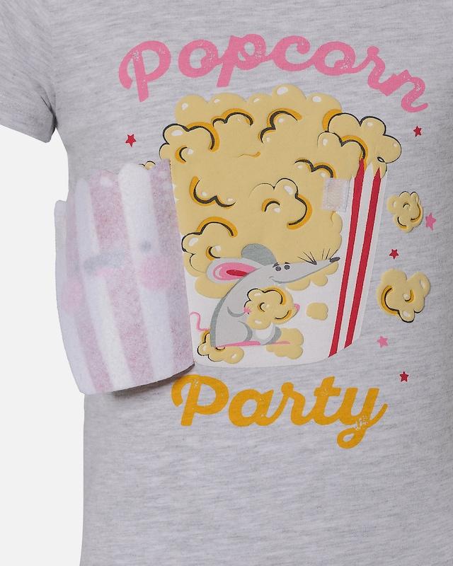 T Shirt mit Applikationen für Mädchen, LEMON BERET