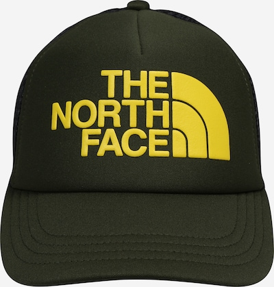 THE NORTH FACE Cap 'YOUTH LOGO TRUCKER' in gelb / oliv, Produktansicht