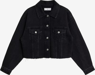 MANGO Prehodna jakna | črna barva, Prikaz izdelka