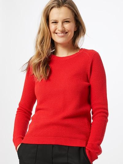 piros VILA Pulóver 'VICHASSA', Modell nézet