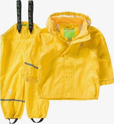 CELAVI Regenset in gelb / schwarz, Produktansicht